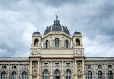 Museo de Kunsthistorisches en Viena fotografía de archivo libre de regalías