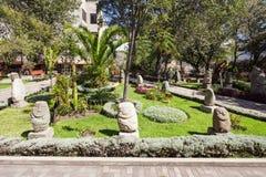 Museo de la arqueología, Huaraz Imagen de archivo