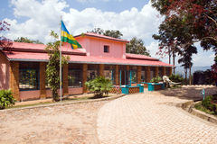 Museo de la casa de Kandt de la historia natural en Kigali Fotografía de archivo