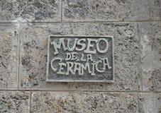 Museo de la Ceramica Byggnad Fotografering för Bildbyråer