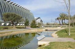 Museo de la ciencia valencia españa Fotografía de archivo libre de regalías
