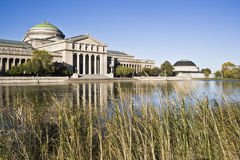 Museo de la ciencia y de la industria Foto de archivo libre de regalías
