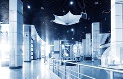 Museo de la ciencia y de la tecnología (de interior) Imágenes de archivo libres de regalías