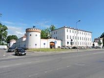 Museo de la ciudad de Taurage, Lituania Foto de archivo libre de regalías