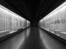 Museo de la ciudad de Jiaxing que visita el domingo fotografía de archivo libre de regalías