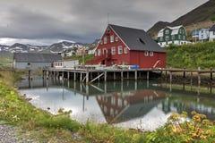 Museo de la era de los arenques, Islandia imágenes de archivo libres de regalías