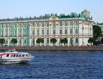 Museo de la ermita en St Petersburg, Rusia. Fotografía de archivo libre de regalías