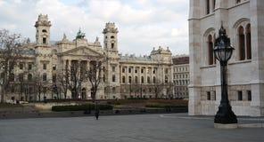 Museo de la etnografía en Budapest Foto de archivo