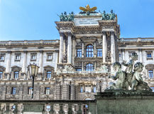Museo de la etnología en Burggarten Viena, Austria imagen de archivo