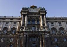 Museo de la etnología en el parque de Burggarten en Viena fotos de archivo