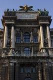 Museo de la etnología en el parque de Burggarten en Viena fotografía de archivo libre de regalías