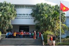 Museo de la etnología, viaje de Hanoi, Vietnam imagen de archivo