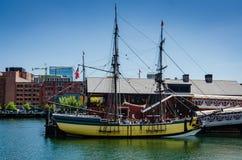 Museo de la fiesta del té de Boston - Boston, mA imagen de archivo