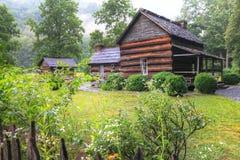 Museo de la granja de la montaña fotos de archivo