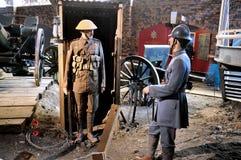 Museo de la guerra de Duxford, Inglaterra - 21 de marzo de 2012 Museo imperial de la guerra de Duxford en el U K Imágenes de archivo libres de regalías