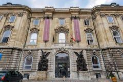Museo de la historia de Budapest Fotografía de archivo libre de regalías
