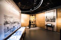 Museo de la historia de judíos polacos Fotografía de archivo