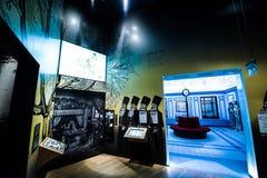Museo de la historia de judíos polacos Imagenes de archivo