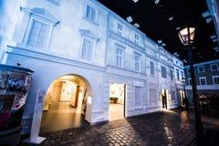 Museo de la historia de judíos polacos Fotos de archivo
