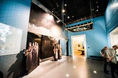 Museo de la historia de judíos polacos Imágenes de archivo libres de regalías