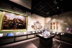 Museo de la historia de judíos polacos Imagen de archivo libre de regalías