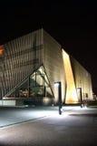Museo de la historia de judíos polacos en Varsovia Foto de archivo libre de regalías