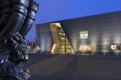 Museo de la historia de judíos polacos en Varsovia, Polonia Foto de archivo libre de regalías