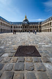 Museo de la historia de la guerra de Les Invalides en París Fotografía de archivo