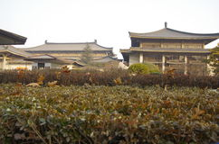 Museo de la historia de Shaanxi Imagen de archivo libre de regalías