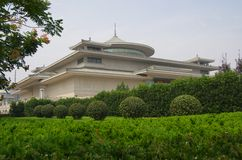 Museo de la historia de Xian China imagen de archivo libre de regalías
