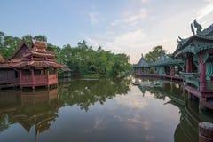 Museo de la historia en Tailandia Foto de archivo