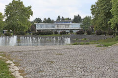 Museo de la historia en Yugoslavia, Belgrado Imagen de archivo
