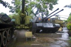 Museo de la historia militar en Hanoi Foto de archivo libre de regalías