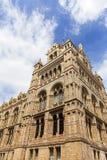 Museo de la historia natural con la fachada adornada de la terracota, Londres, Reino Unido Fotografía de archivo