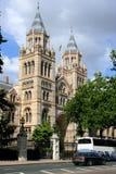 Museo de la historia natural de Londres Imagenes de archivo