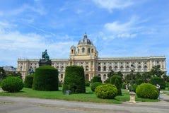 Museo de la historia natural en Viena Imágenes de archivo libres de regalías