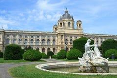 Museo de la historia natural en Viena Fotografía de archivo libre de regalías