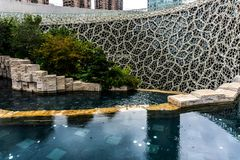 Museo 3 de la historia natural de Shangai imagenes de archivo