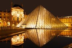 Museo de la lumbrera en la noche Imágenes de archivo libres de regalías