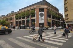 Museo de la MAMBA del arte moderno en el viejo San Telmo Neighborhood en Buenos Aires, la Argentina fotografía de archivo
