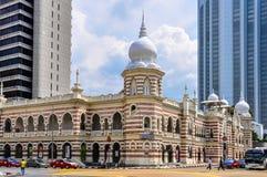 Museo de la materia textil en Kuala Lumpur, Malasia foto de archivo libre de regalías