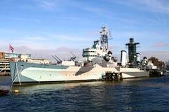 Museo de la nave de guerra Imagenes de archivo