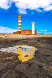 Museo de la Pesca Tradicional - light house El Cotillo Royalty Free Stock Image