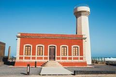 Museo de la Pesca Tradicional, Los Lagos. Fuerteventura, Spain royalty free stock photo