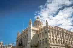 Museo de la revolución, palacio presidencial anterior - La Habana, Cuba foto de archivo
