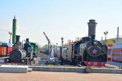 Museo de la tecnología ferroviaria Imagen de archivo libre de regalías