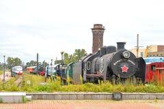 Museo de la tecnología ferroviaria Fotos de archivo libres de regalías