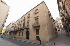 Museo de las bellas arte de la ciudad de Alicante Fotos de archivo