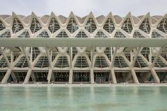 Museo de las ciencias  in the City of Arts and Science, Valencia Stock Photography
