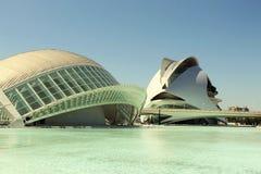 Museo De Las Ciencias Principe Felipe, Hiszpania zdjęcie stock